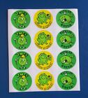 Vintage Scratch n sniff smelly stickers sheet lime scented 1980s