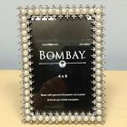 Pearls and Crystals 4 x 6 Picture Frame Wedding New with Box