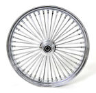 26 x35 FRONT WIDE GLIDE WHEEL MAMMOTH 48 FAT SPOKES SINGLE DISC FIT HARLEY