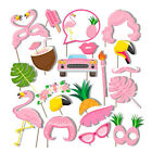 20PC Flamingo Summer Hawaii Pool Party Photo Booth Props Party Favors Supplies