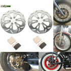 For Suzuki Intruder VS1400GLP 87 88 89 90-04 Front Rear Brake Rotors Discs Pads