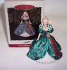 Keepsake Ornament Collector Series Third in the Holiday Barbie Handcrafted 1995