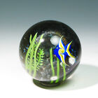 Mesmerizing ANGEL FISH Grant Randolph Glass Paperweight Limited Edition