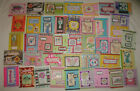 LOT of 40 HANDMADE BIRTHDAY GREETING CARDS with ENVELOPES STAMPIN UP and OTHERS