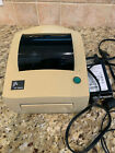 Zebra 2844 Thermal Label Printer USB Parallel Serial + AC Adapter