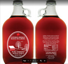 1 1 2 gal glass jug of Vermont Organic Maple SyrupAmber rich 2019 crop