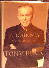Blain Tony A Journey My Political Life Signed First Edition