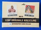 2012 LEAF ORIGINALS WRESTLING BOX FACTORY SEALED *SP5