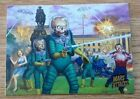 Stan Lee Swings the Mighty Typewriter of Doom on Mars Attacks Promo Card 16