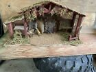 Nativity Barn 27 Long X 13 1 2 Tall X 9 3 4 Wide