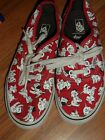 youth boys girls unisex size 2 Disney 101 Dalmations Vans shoes sneakers