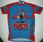 Popeye Cycling Jersey Retro Image Apparel Co Size Medium