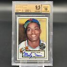2001 Heritage Monte Irvin Auto Autographed Signed Giants Baseball BGS 9.5 10
