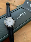 LADIES QUALITY GUCCI WATCH, 7400L DECENT USED CONDITION RUNS WELL,,