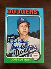 Don Sutton Baseball Cards and Autographed Memorabilia Guide 29