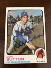 Don Sutton Baseball Cards and Autographed Memorabilia Guide 30