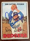Don Sutton Baseball Cards and Autographed Memorabilia Guide 31