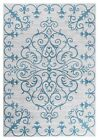 Tranquil Beautiful Transitional Ikat Gray Blue Area Rug