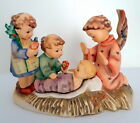 Hummel SILENT NIGHT Figurine Candle Holder Baby Jesus Nativity Scene 54 TMK 6