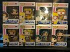 Sailor Moon Series Funko Pop Vinyl Figures lot with Hot Topic, NYCC exclusives.