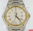 Ebel 1911 Stainless Steel 18k 750 Gold Date 34mm 187902 Watch