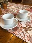 Homer Laughlin Fiestaware White Cup And Saucer X2
