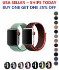 Woven Nylon Band for Apple Watch Sport Loop iWatch Series 4/3/2 38/42/40/44mm