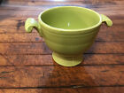 Vintage Green Chartreuse Fiestaware Sugar Bowl - Bowl Only No Lid