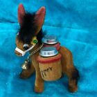 Vintage Hong Kong Donkey And Barrel Salt And Pepper Anthropomorphic