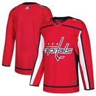 ADIDAS Men's Washington Capitals Red Home Authentic Blank Jersey - SIZE- 50-NEW