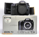 CANON EOS 7D DSLR CAMERA BODY ONLY TESTED EXC COND SHUTTER COUNT 51163