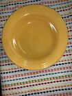 Vintage Fiestaware Yellow Deep Plate Fiesta Original Yellow Rimmed Soup Bowl