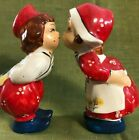 We Are From Holland Kissing Salt And Pepper Shakers Blue Label Japan
