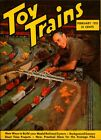 1953 Toy Trains Magazine Vol 2 No 4 New Ways To Build Your Model Railroad System