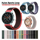 Woven Nylon Sport Loop Wrist Watch Band For Samsung Galaxy Watch Strap 42mm/46mm