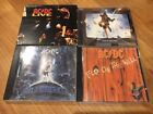 AC/DC 4 CDs Lot 5 - Fly on the Wall, Ballbreaker, Blow up your video, Live 2CDs