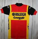 RALEIGH CAMPAGNOLO WOOL MOA SPORT 70s Vintage Cycling Jersey Shirt MAN SIZE 4