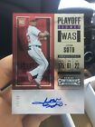 2018 Contenders Juan Soto Playoff Ticket RC Rookie Auto 49 Nationals