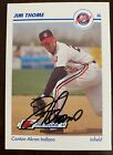Jim Thome Auto Signed 1991 Minors RC #96 Line Drive Pre Rookie In Person