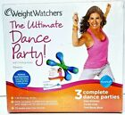 Weight Watchers The Ultimate Dance Party DVD Kit Firming Sticks 3 Dance Parties