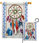 Dreamcatcher Southwest Soul Boho Bohemian Native Crystal Garden House Yard Flag