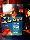 Sideshow Toy The Wolf Man Universal Monster 12 figure NIB Wolf Man