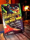 Sideshow Toy Frankenstein meets the Wolf Man Universal Monster 12 figure NIB