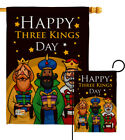 Three Kings Day Nativity Garden Flag Epiphany Wise Men Denha House Yard Banner
