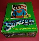 1978 Topps Superman The Movie Series 2 Unopened Box 36 Packs