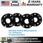 415inch Black For Jeep Hubcentric Wheel Spacers  JK Wrangler Grand Cherokee