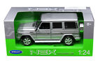 WELLY 124 2012 MERCEDES BENZ G CLASS G WAGON SUV DIECAST MODEL SILVER 24012W SL