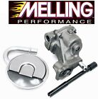 MELLING M55 Oil Pump+Pickup Tube Screen+Drive Shaft for Chevy SBC 327 350 400