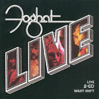 Foghat-Night Shift+Live 2CD 1999 SEALED Castle Essential REMASTERED hype sticker