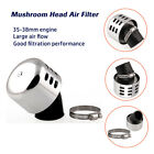 1Set Mushroom Head Air Filter 35-38mm Engine ATV Scooter Motorcycle Modified ABS